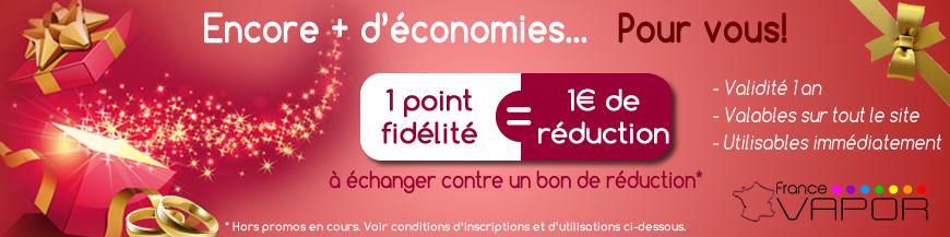 Programme de fidélité FranceVapor.com