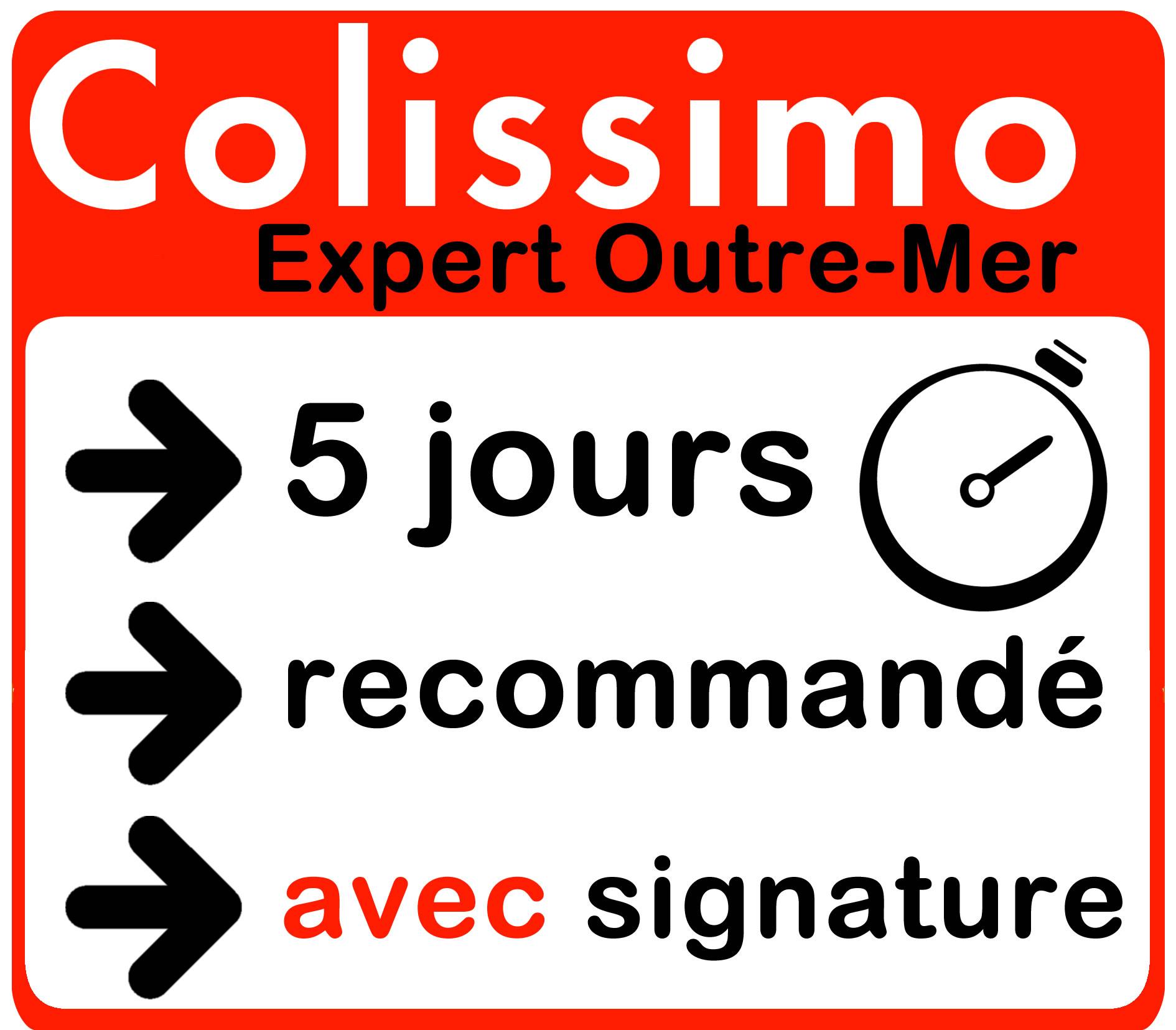 Colissimo Recommandé Outre-Mer