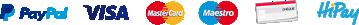 Payez vos eliquides par Paypal, Visa, Mastercard, CB, Chèque