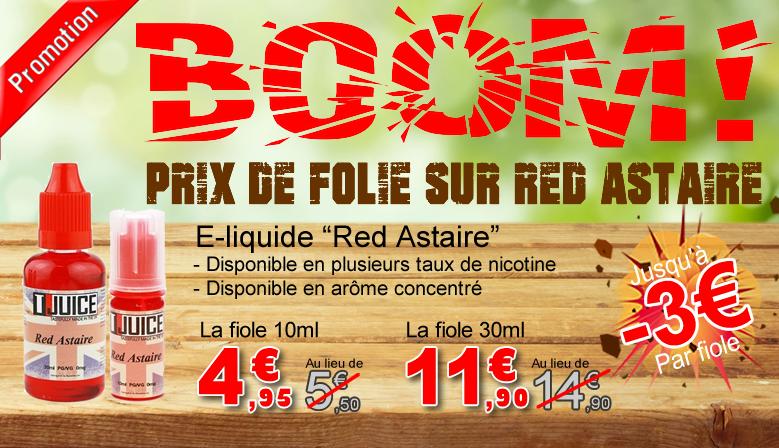 e-liquide Red Astaire en promotion -3€ T-Juice
