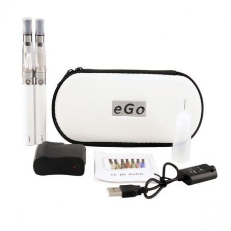 Pack e-cigarette double eGo CE4 - 1100 mAh