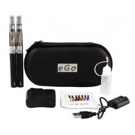 Pack e-cigarette double eGo CE4 - 1100 mAh